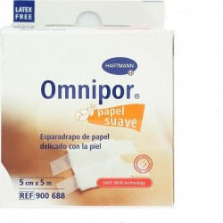 ESPARADRAPO OMNIPOR PAPEL 5MX5CM