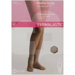 MEDIA FARMALASTIC LARGA BLONDA CN CAMEL T/M