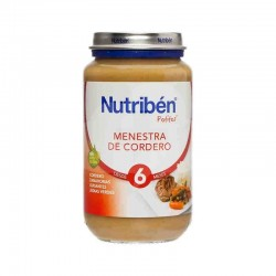 NUTRIBEN GRANDOTE MENESTRA CORDERO 250GR