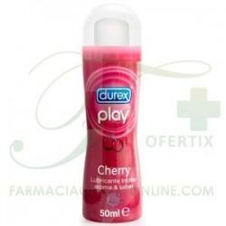 DUREX PLAY LUBRICANTE SABOR CHERRY 50 ML