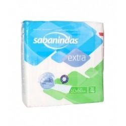 SABANINDAS EXTRA PROTECT 60X60CM 20 UND