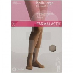 MEDIA FARMALASTIC LARGA BLONDA C.N. CAMEL T/G 2und