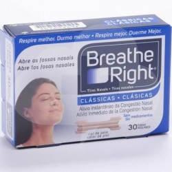 Breathe right classicas peq/mediana 30 unid