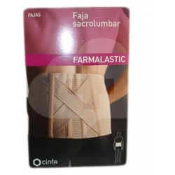 FAJA SACROLUMBAR FARMALASTIC T/3