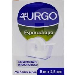 Urgo Esparadrapo con Dispensador 5m x 2,5 cm