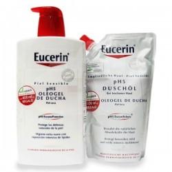 Eucerin Oleogel Ducha 1L+ Ecopack 400 ml