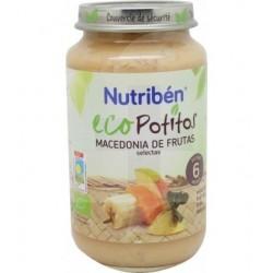 NUTRIBEN ECOPOTITO MACEDONIA FRUTAS 250G