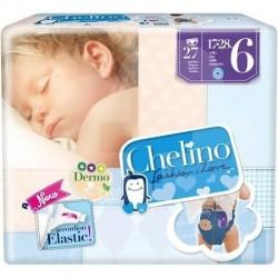 PAÑAL INFANTIL CHELINO LOVE T-6 (17-28 KG) 27 UDS