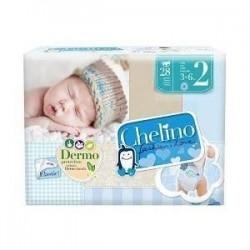 PAÑAL INFANTIL CHELINO LOVE T-2 (3-6 KG)28 UDS
