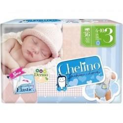 PAÑAL INFANTIL CHELINO LOVE T- 3 (4 -10KG) 36UN