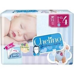 PAÑAL INFANTIL CHELINO LOVE T- 4 (9 -15KG) 34UN