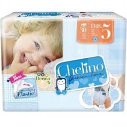 PAÑAL INFANTIL CHELINO LOVE T- 5 (13 -18KG) 30UN
