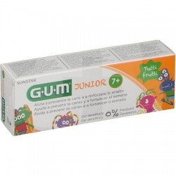 GUM JUNIOR GEL TUTTIFRUTTI MONSTRUOS 7+ 50 ML