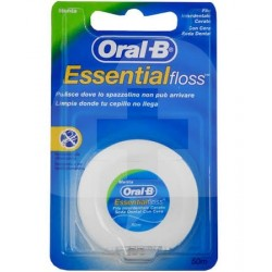ORAL-B SEDA DENTAL ESSENTIAL FLOSS CON CERA MENTA 50M