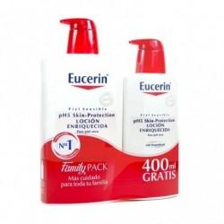 EUCERIN PACK LOCION ENRIQUECIDA 1000ML + 400ML
