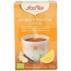 YOGI TEA® Jengibre, Naranja y Vainilla
