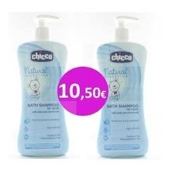 Chicco Bath shampoo 500ml+500ml