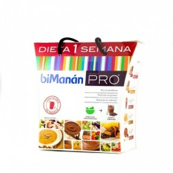 biManán PRO dieta 1 semana
