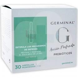 GERMINAL ACCION PROFUNDA PREBIOTICO 30 AMP
