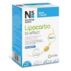 CINFA N+S LIPOCARBO BI-EFFECT 60 COMPRIMIDOS