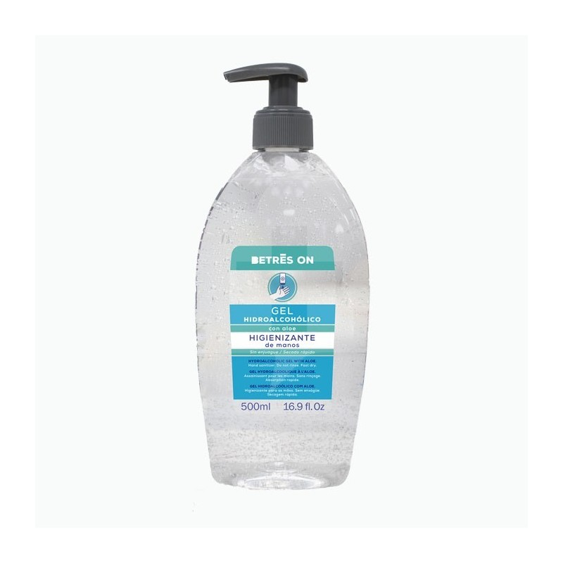 gel hidroalcoholico 500 ml betres on