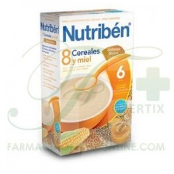 Nutriben 8 Cereales con Galleta Maria 600 GR
