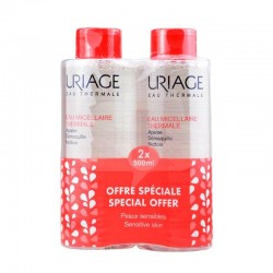 URIAGE AGUA MICELAR TERMAL ROJECES 2x 500ml