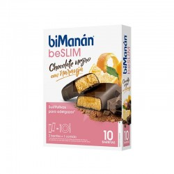 BIMANAN BE SLIM BARRITA CHOCOLATE CON NARANJA10 UDS