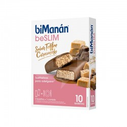 BIMANAN BE SLIM BARRITA TOFFEE 10 UDS