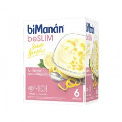 BIMANAN BE SLIM NATILLAS DE LIMON 6 SOBRES