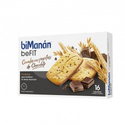BIMANAN BE FIT GALLETA CEREALES Y PEPITAS 16 UDS