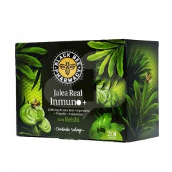 BLACK BEE JALEA REAL INMUNO+ REISHI 20 AMPOLLAS