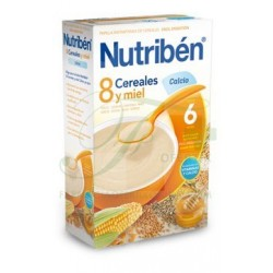 Nutribén 8 Cereales, Miel y Calcio 600 GR