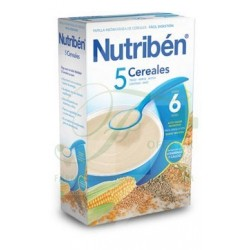 Nutriben 5 Cereales 600 gr