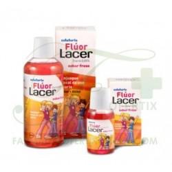 Lacer Flúor Diario Colutorio 0,05% Fresa 500 ml