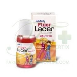 Lacer Fluor Semanal Colutorio 0,2% Fresa 100 ML