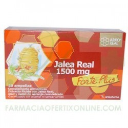 ARKOREAL JALEA REAL 1500MG 20 AMPOLLAS