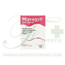MUVAGYN GEL VAGINAL 8 APLICADORES 5ML