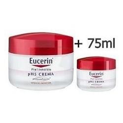 EUCERIN CREMA HIDRATANTE DUPLO 100 ml+75 ml